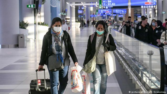 Flughafen nach Corona-Lockerungen