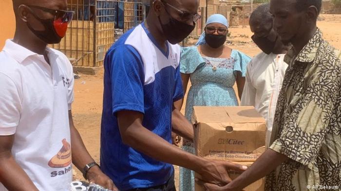 Burkina Faso Sensibilisierung gegen COVID-19