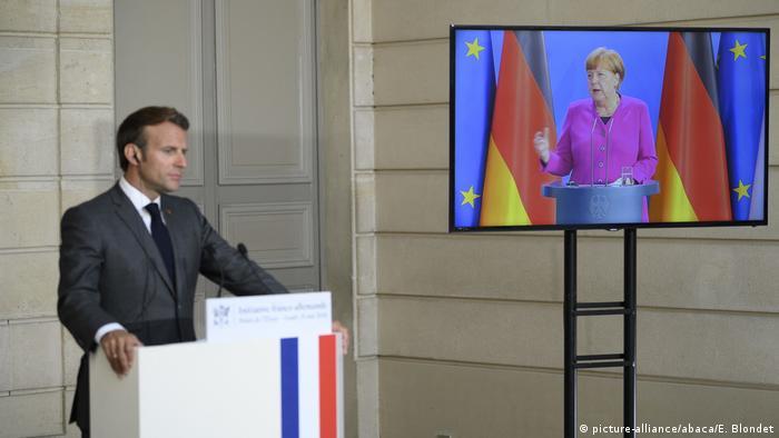 EU Merkel und Macron | Aufbauprogramm für Europa