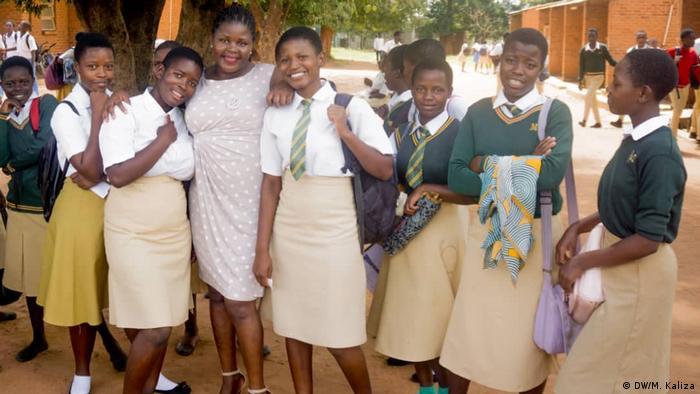 Afrika Gymnasiasten in Malawi