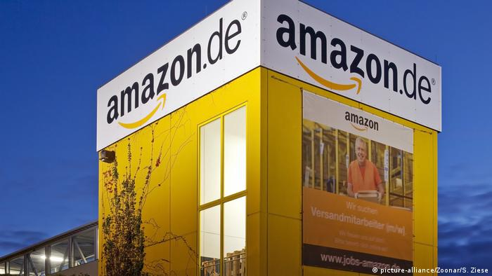 Распределительный центр Amazon в Райнберге