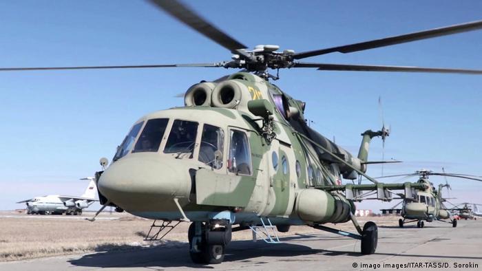Російський військовий вертоліт Mi-8 (архівне фото)