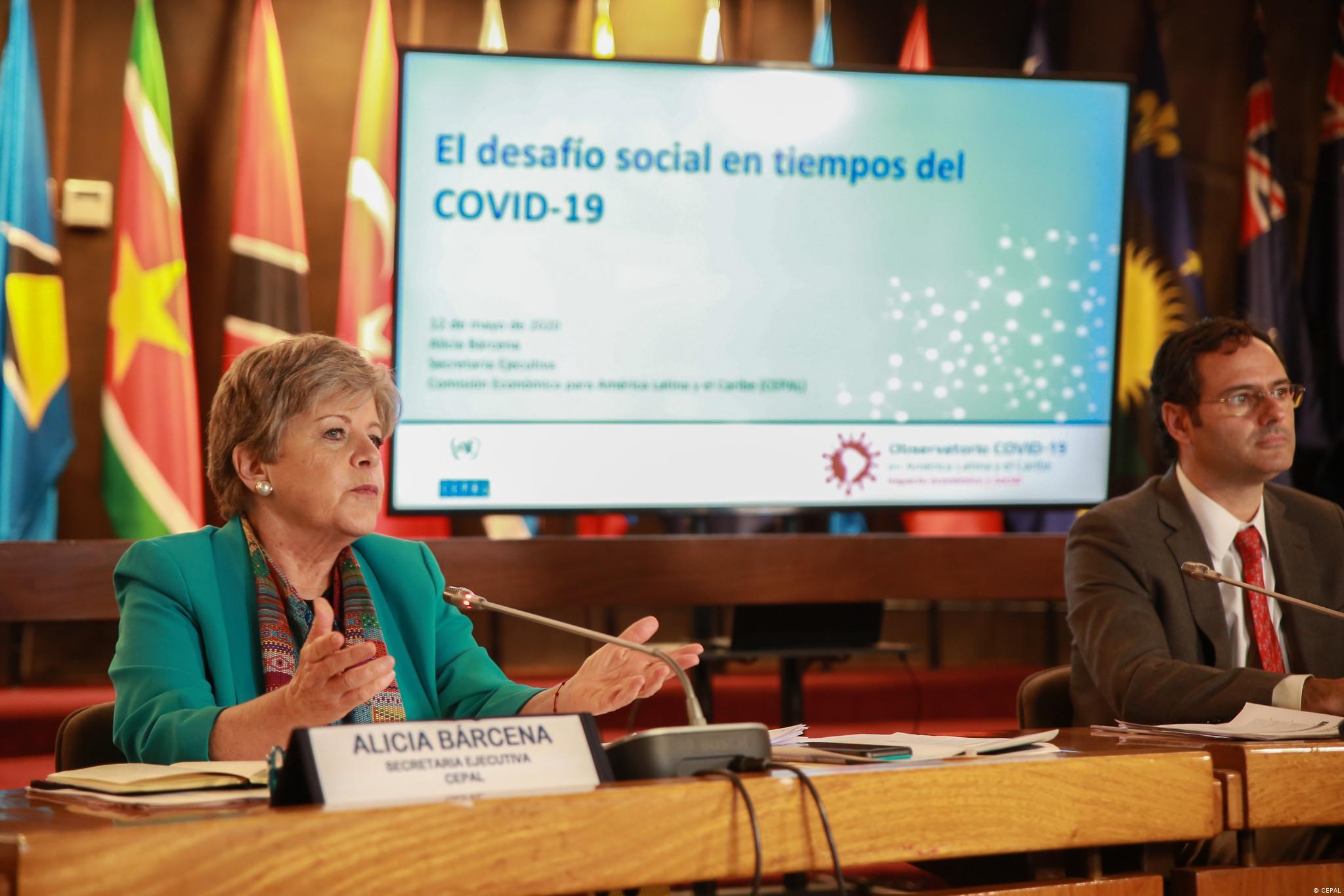 Chile CEPAL Wirtschaftskommission für Lateinamerika und die Karibik Alicia Bárcena