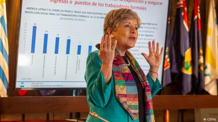 Chile CEPAL Wirtschaftskommission für Lateinamerika und die Karibik Alicia Bárcena (CEPAL)