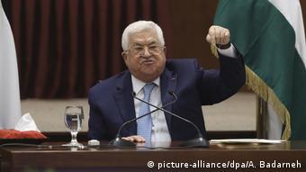 Mahmud Abbas Kündigt Abkommen mit Israel und USA auf