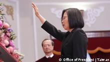 Taiwan Vereidigung Tsai Ing-Wen