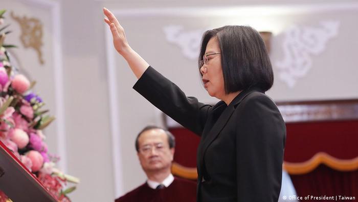 Taiwan Vereidigung Tsai Ing-Wen (Office of President | Taiwan)