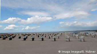 На немецком побережье Балтийского моря
