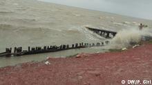 Indien Sundarban  Vorbereitungen auf Zyklon Amphan