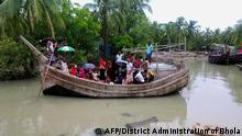 Bangladesch Evakuierung vor Zyklon Amphan