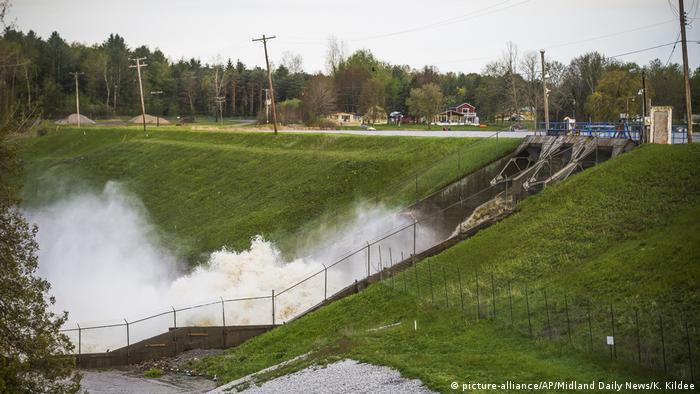 Michigan Dammbruch (picture-alliance/AP/Midland Daily News/K. Kildee)