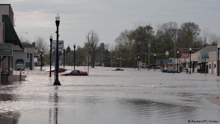 Michigan Dammbruch (Reuters/TC Vortex)