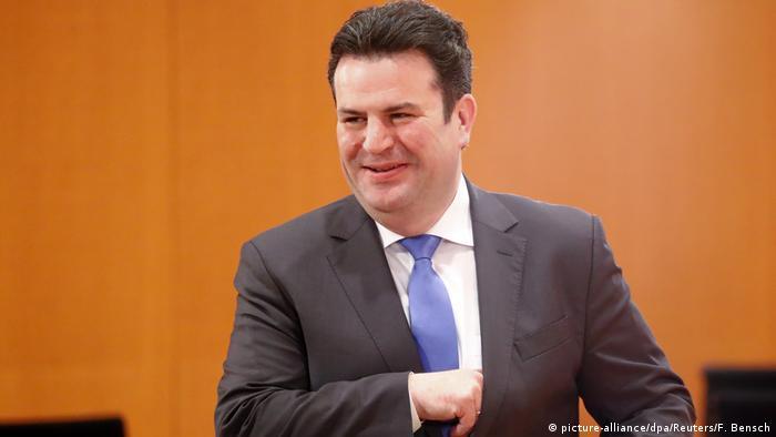Bundesarbeitsminister Hubertus Heil (SPD) (picture-alliance/dpa/Reuters/F. Bensch)