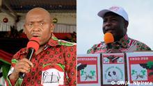 Bildkombo Agathon Rwasa und Evariste Ndayishimiye