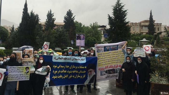 شکایت پرستاران گیلان از وزارت بهداشت به دلیل قراردادهای ۸۹ روزه