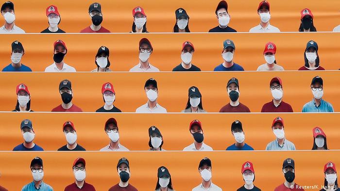 Südkorea  Sport & Coronavirus  Baseball (Reuters/K. Hong-Ji)