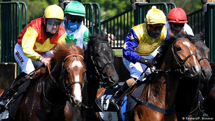 Deutschland Hannover |Sport & Coronavirus |Pferderennen (Reuters/F. Bimmer)