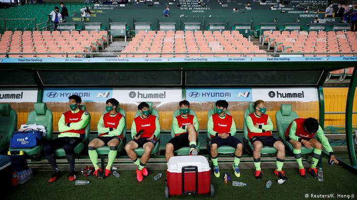 Südkorea |Sport & Coronavirus |Fußball (Reuters/K. Hong-Ji)