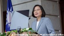 Taiwan Taipeh  Amtsantritt Tsai Ing-wen, Präsidentin