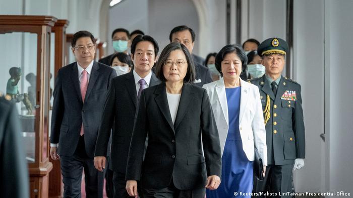 Taiwan Taipeh |Amtsantritt Tsai Ing-wen, Präsidentin (Reuters/Makoto Lin/Taiwan Presidential Office)