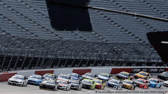 USA Darlington |Sport & Coronavirus |Autorennen (Reuters/Brynn Anderson/Pool Photo via USA TODAY Network)