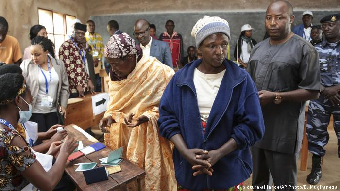 Coronavirus - Präsidentschaftswahl in Burundi