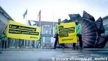 Protest gegen Kohleausstiegsgesetz