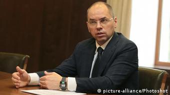 Отстраненный от должности глава Минздрава Украины Максим Степанов