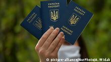 Polen Krakau Ukrainische Pässe