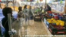 13.05.2020 Zhytniy food market resumed operations after the ban, amid the coronavirus disease COVID-19 outbreak in Kyiv, Ukraine on May 13, 2020 (Photo by Maxym Marusenko/NurPhoto)   Keine Weitergabe an Wiederverkäufer.