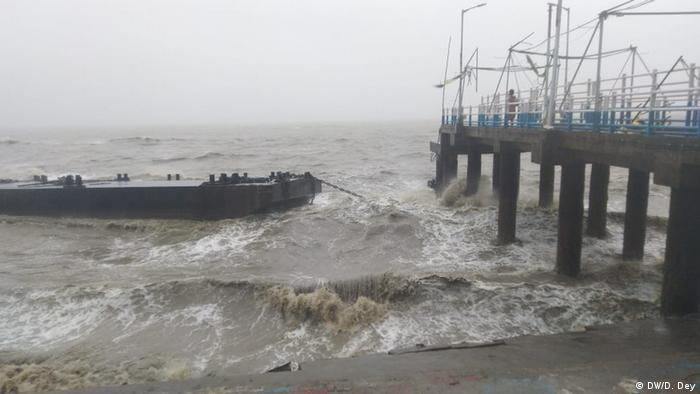 Indien Westbengalen  Zyklon Amphan