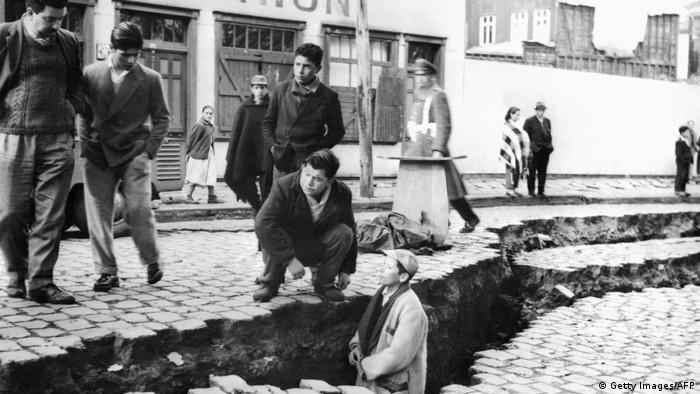 Chile | Erdbeben in Valdivia 1960 (Getty Images/AFP)