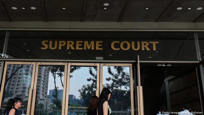 Singapur - Oberster Gerichtshof (Getty Images/AFP/R. Rahman)