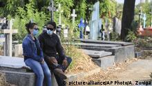 Nicaragua Managua Coronavirus | Friedhof