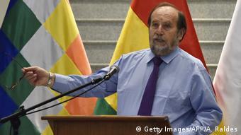 Bolivien Gesundheitsminister Marcelo Navajas