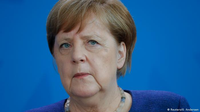 Deutschland Berlin   Pressekonferenz Angela Merkel