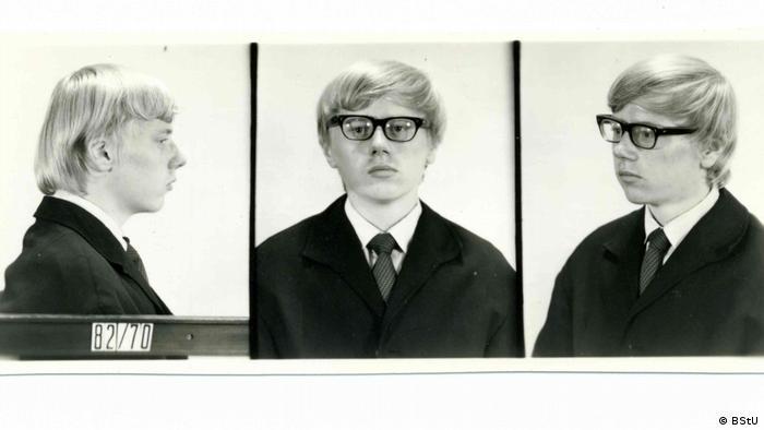 Fotografije Karl-Hajnca Borharta iz policije 1970. godine