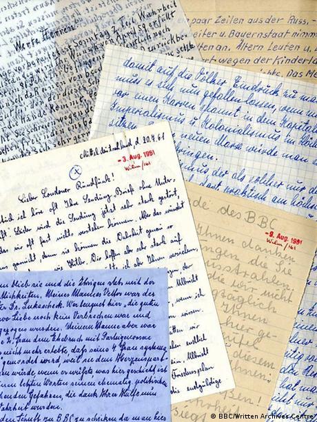 Писма от всички краища на ГДР