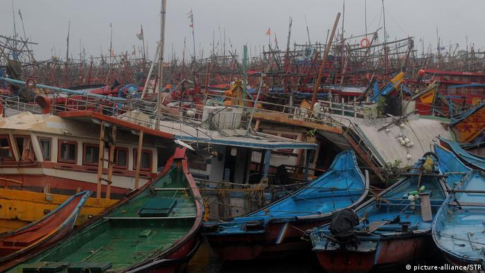 Indien/Bangladesch: Zyklon Amphan (picture-alliance/STR)