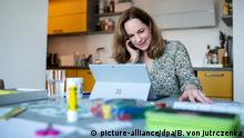 Homeoffice - Arbeitsplatz in der Coronakrise - Hildegard Bentele (CDU)