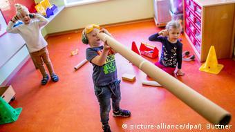 Детский сад в Шверине