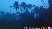 Zyklon Amphan trifft Indien und Bangladesch