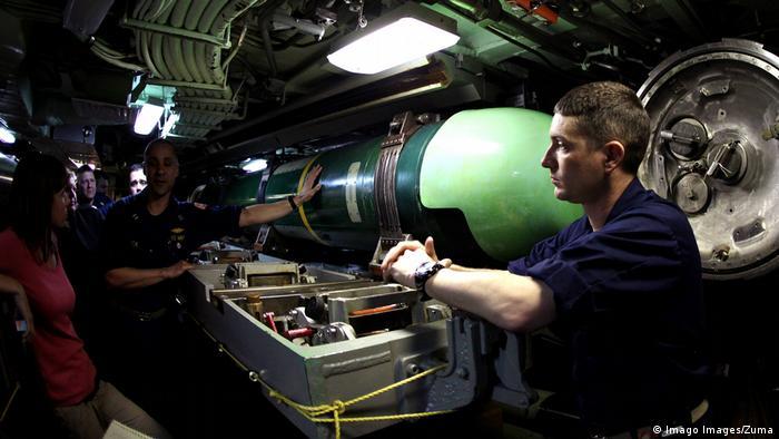 US-Torpedo Mark 48 (Imago Images/Zuma)