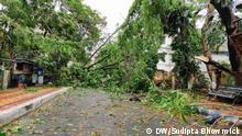 Indien Kolkata Schäden durch Zyklon Amphan