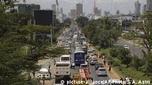 Kenia | Nairobi | Smog | Luftverschmutzung