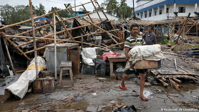 Devastation caused by Amphan