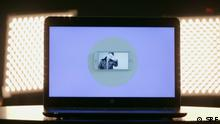 Symbolbild Streaming Laptop Konzert