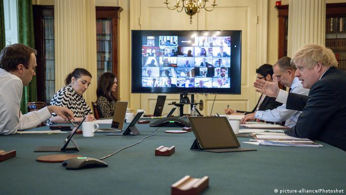 UK Cabinet meeting