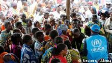 Symbolbild Kongo Flüchtlinge