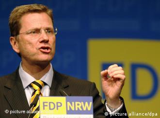 جرمن وزیر خارجہ گیڈو ويسٹر ويلے